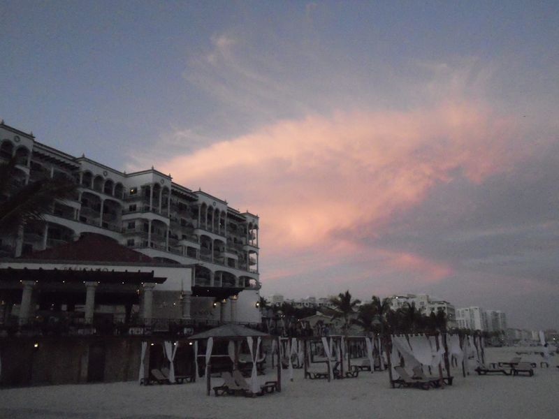 Sunseting over Royal Cancun